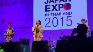sakura shikibu- (AKATSUKI) Live concert in Thailand (Japan Expo Tha...