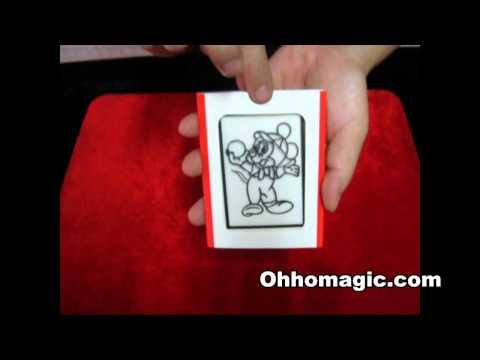 มายากล มิกกี้เม้าส์ระบายสี Ohhomagic.com