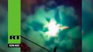 Un meteorito pinta de verde el cielo de Argentina