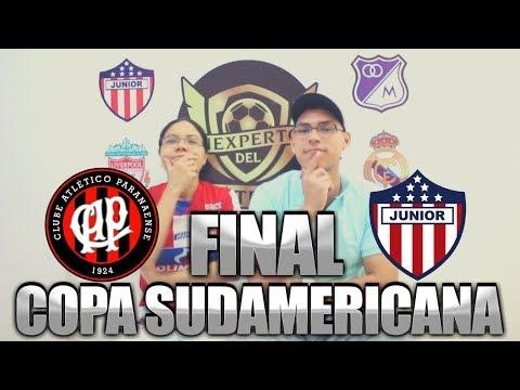 PREDICCIÓN FINAL COPA SUDAMERICANA 2018 - PARANAENSE VS JUNIOR DE BARRANQUILLA