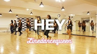 Hey Line Dance (Ira Weisburd) Beginner - Bachata demo