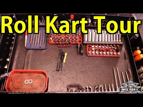 What's In A VW Mechanic's Tool Cart