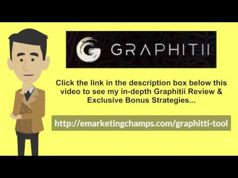 [Graphitii Review] Honest Review & Bonus Strategies: (Graphitii Review) See honest review of Graphitii, learn how it works & discover unique Graphitii BONUS strategies: http://emarketingchamps.com/graphitii-tool/  ----  Write a good Graphitii review with Print on Demand (POD) publishers, nowadays it's easy and cheap to type up and edit a book in your favorite word processor, upload it to a POD's server, and have the book available for shipping within weeks or less. Books are also a great way to position yourself as the expert. There's something almost magical that takes place when you send your clients an autographed copy of your latest book. In their eyes, you instantly gain credibility. Your status becomes elevated. They are more likely to want to do business with you.  There's little doubt that successful Graphitii bonus publishers want to surround themselves with other successful people. And a book shows them that you are successful. It gives you prestige. You are now an author. It's far easier to dismiss your self-claims in a salesletter than it is from a book. The fact that anyone can have a book printed is irrelevant (at least for now). If you don't have the time or patience to write a book, you have several options:  You can dictate the book and have it transcribed (elance.com and guru.com are good places to get a transcript done for you, but there are many other places online and offline to have them done as well). You can have someone ghostwrite the book for you. Be sure to check out their previous work, though! You can hold a teleseminar by yourself or with other experts and have it transcribed and edited into a book. You can get together with other experts in your field and each contribute a chapter or two for a book.  Graphitii Review - https://www.youtube.com/watch?v=EUMUljKnsjc  See honest review of Graphitii Tool, learn how it works & discover unique Graphitii Tool BONUS strategies: http://emarketingchamps.com/graphitii-tool/