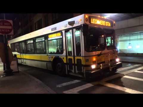 MBTA: XDE40, D40LF & NovaBus RTS Lechmere Station Shuttle Bus @ Haverhill & Causeway Streets!