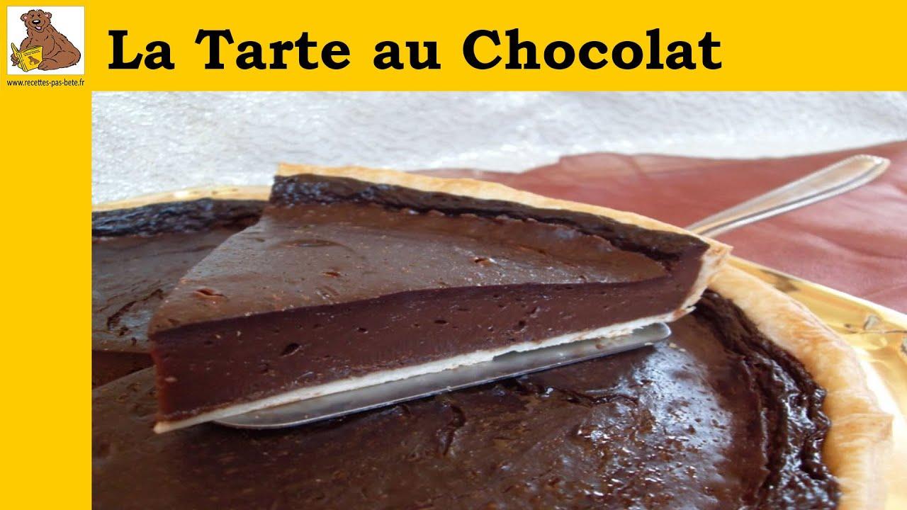 La tarte au chocolat recette rapide et facile hd youtube - Tarte aux chocolat facile ...