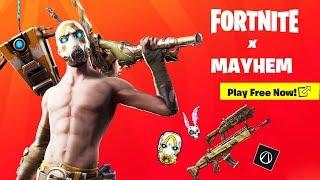 Événement Fortnite x Mayhem ! (FREE REWARDS, SKIN BUNDLE, Pandora POI, PLUS) 10.2 Mise à jour