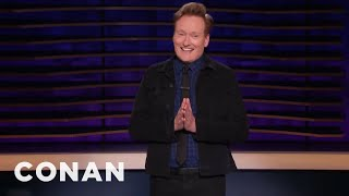 Conan Was In The Hospital This Weekend Passing An Infinity Stone - CONAN on TBS