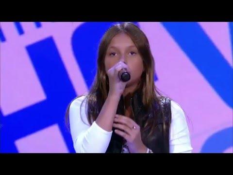 Laura Schadeck canta 'Burn' no The Voice Kids - Audições|1ªTemporada