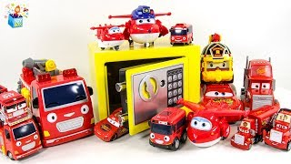Learning Color Disney Cars Lightning McQueen yellow magic safe box play funny video for kids
