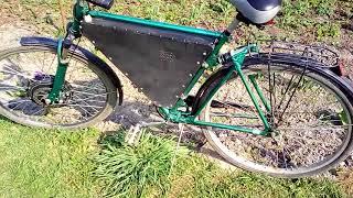 Сделанный самостоятельно электровелосипед. Made by yourself an electric bike
