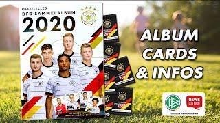 100 Sammelkarten DFB Sammelalbum Leeralbum! Rewe Sammelalbum DFB EM 2020 NEU !