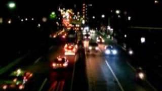 環状7号線夜の動画を曲とともに。。。 music:Prelude[FreeTEMPO]