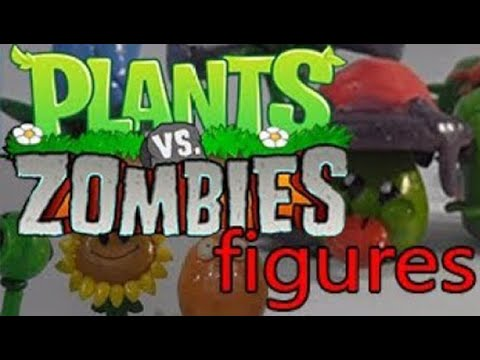 Plants Vs. Zombies 1 & 2: Plants figures collection