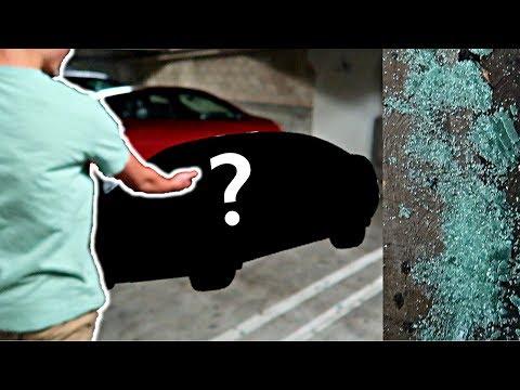STOLEN CAR ON HOLLYWOOD BOULEVARD!!!