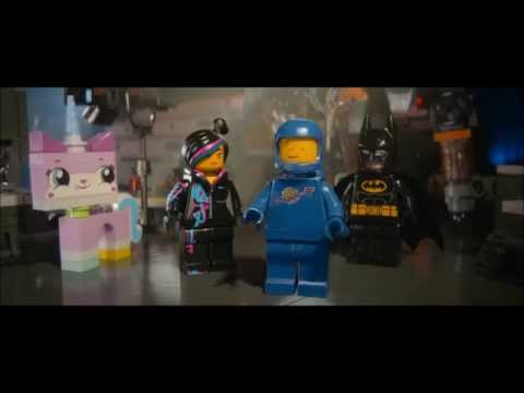The LEGO Movie Benny's SPACESHIP!!!!!!!!!!! Scene