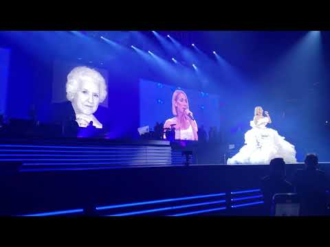 Lisa St. Regis - Celine Sings a Tribute to Her Mother Over the Rainbow