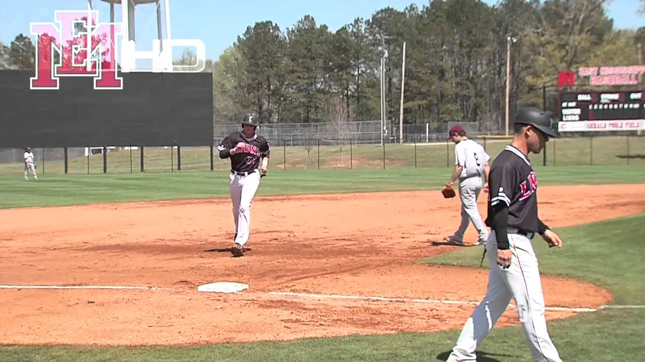 Emcc Vs Coahoma Baseball Youtube