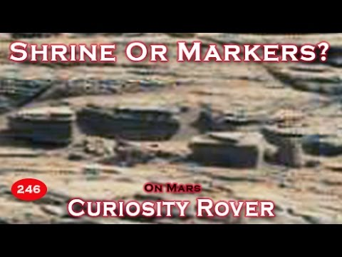 NASA Curiosity Rover Finds A Shrine Or Markers On Planet ...