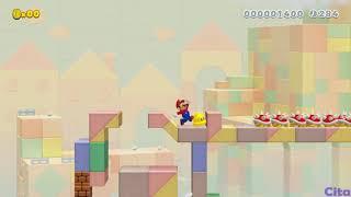 Super Mario Maker 2 [SM3DW] blocky trouble 5PW-KCH-WWF