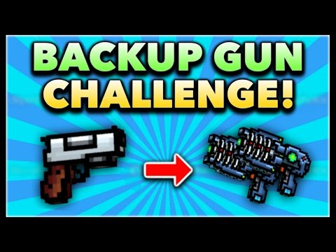Pixel Gun 3D - Backup Gun Game Challenge! (Using ALL Backup Guns)