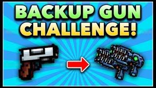 Pixel Gun 3D - Backup Gun Game Challenge! (Using ALL Backup Guns)
