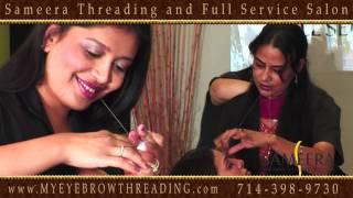 Sameera Threading and Full Service Salon -  2447 E Chapman Ave, Fullerton CA 92831 714-398-9730