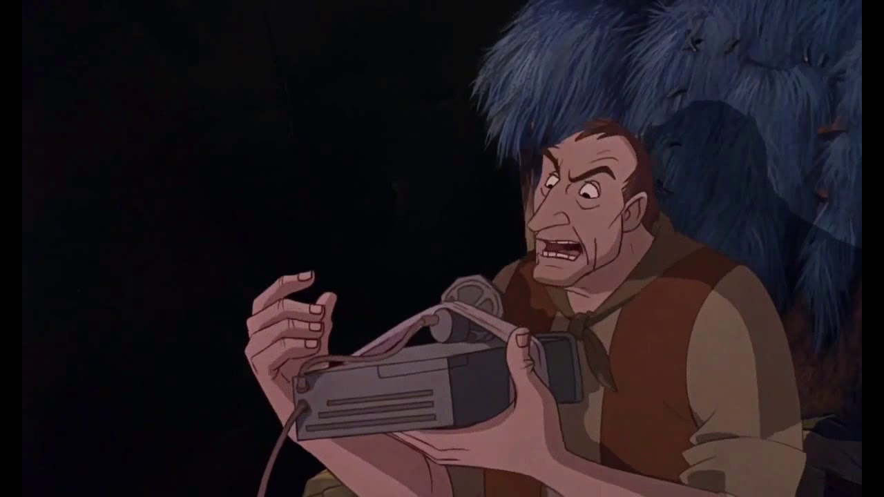 Download The Rescuers Down Under - Joanna stealing McLeach's eggs