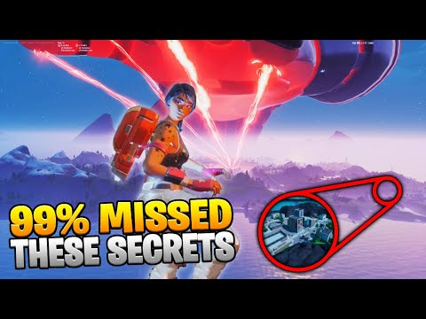 10 Secrets YOU MISSED In The Fortnite GALACTUS EVENT!