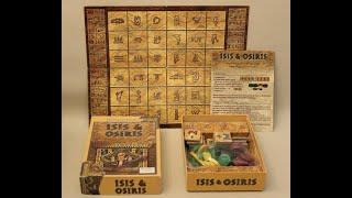 Règle du jeu ISIS & OSIRIS