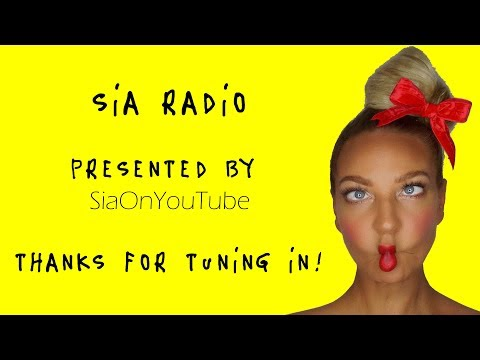 """""""NO NEW FRIENDS"""" OUT NOW! Sia Radio - LIVE STREAM! HQ SIA SONGS 22/03/19 #SiaOnYouTube"""