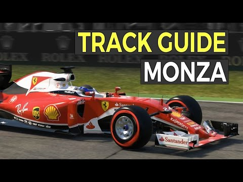 Monza Track Guide - Sim Racing Tips - F1 2016