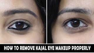 HOW TO REMOVE KAJAL MAKEUP PROPERLY - Easiest way | Indian Mom on Duty