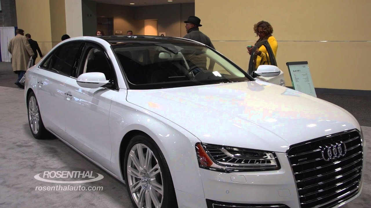 2016 audi a8 l sedan show tell youtube. Black Bedroom Furniture Sets. Home Design Ideas