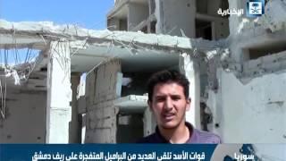 الطائرات الحربية تشن غارات على المعارضة في مدينة حلب