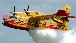 Aviões de Combate à Incêndios (Reabastecendo)