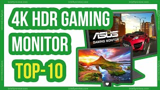 Top 10: Best 4K HDR Gaming Monitor for PS4 Pro 2019