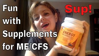 Sup! Fun with Supplements for ME/CFS