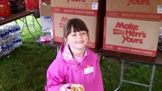 2012 MS Walk, Lenape Park, Sellersville, PA - donut dance