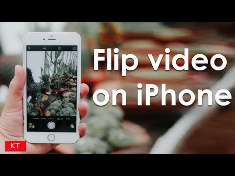 How to rotate a video in iphone 5/6/6s/7/7s
