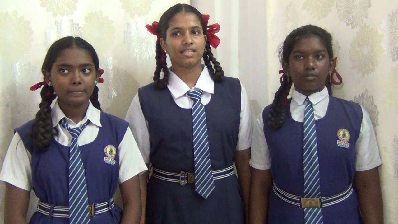 TEACHERS DAY 2016 POEM PRACTICE BY 3 STUDENTS - YouTube