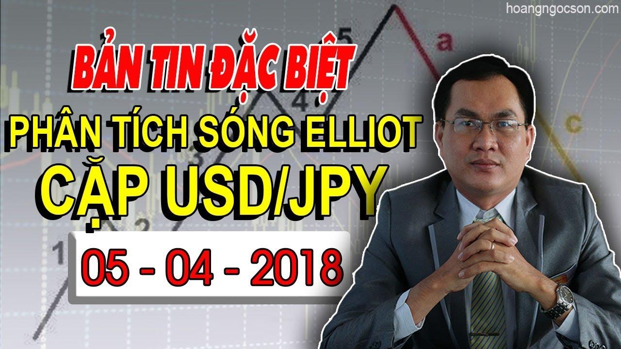 [Chiến Lược Giao Dịch Forex] – Bản Tin Đặc Biệt – Phân Tích Sóng Elliott Cặp Ngoại Tệ USD/JPY