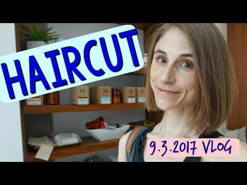 vlog:-milk-&-honey-haircut,-what's-in-my-fridge,-hair-care-💇