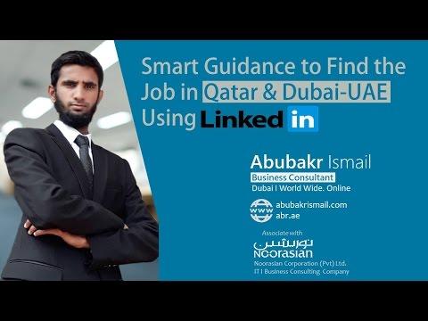 Best way to find a job in Qatar and Dubai - UAE Using LinkedIn Job