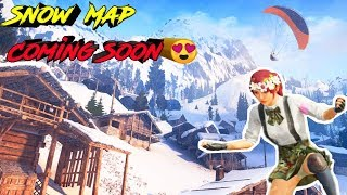 Pubg Mobile Snow Map Coming Soon | Sanhok Map | New Update | Roasting Guru