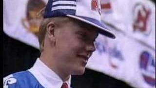 Mats Sundin- 1989 NHL Draft