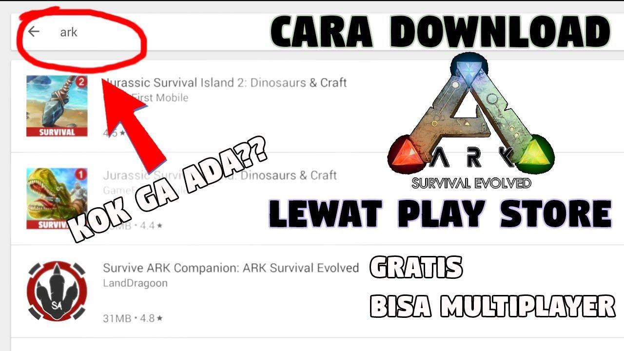 скачать игру ark survival evolved на андроид