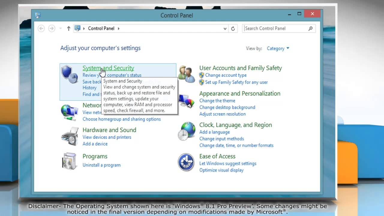 How to avoid password request after Sleep Mode in Windows® 8 1