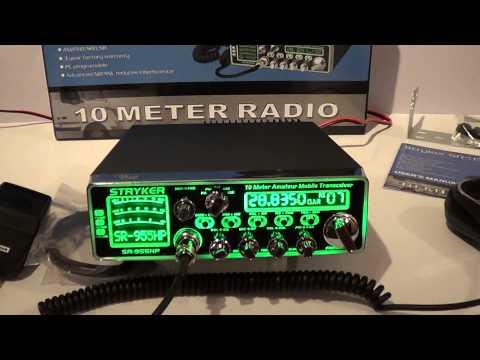 Stryker SR-955HPC 10 Meter Radio Review