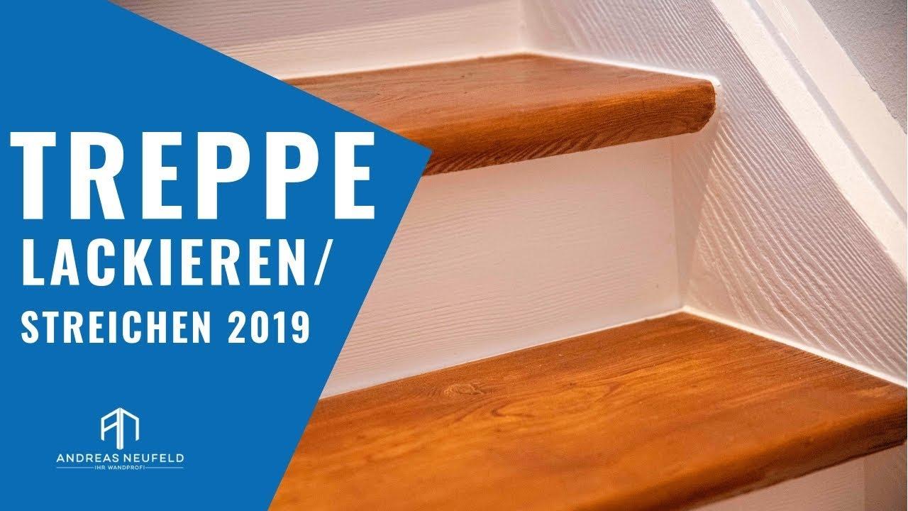 Super TREPPE lackieren und STREICHEN 2019 | Der Wandprofi - YouTube OI42