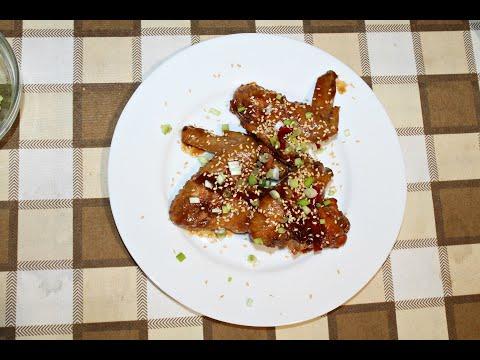 Курячі крильця з соусом теріякі за рецептом Джеймі Олівера